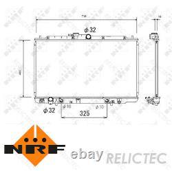 Coolant Radiator HondaACCORD VI 6 19010P8CA51