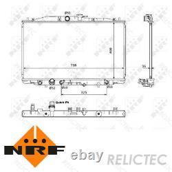 Coolant Radiator HondaACCORD VII 7 19010RBBE51