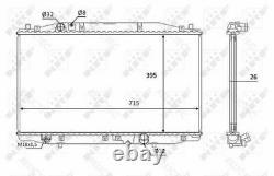Coolant Radiator HondaACCORD VII 7 19010RBDE01