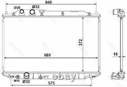 Coolant Radiator HondaCIVIC VIII 8 19010RNAA01