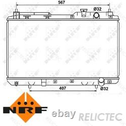 Coolant Radiator HondaCR-V I 1 19010P3F004 19010P3F014