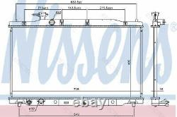 Coolant Radiator HondaCR-V III 3 19010RZAA01 R14718