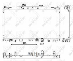 Coolant Radiator HondaINSIGHT 19010-RBJ-004