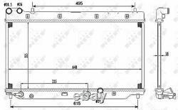 Coolant Radiator HondaJAZZ II 2 19010PWAJ51 19010PWAE01