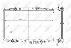 Coolant Radiator HondaODYSSEY 19010RGLA51