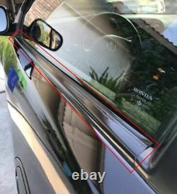 Genuine Honda CIVIC 92-95 EG6 OUTER Left Right SET WINDOW DOOR MOLDING Water