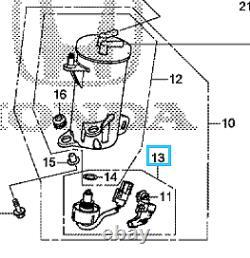 Genuine Honda Fuel Water Sensor All 1.6 I-dtec Engines Crv/civic/hrv 2014-2019