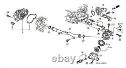 Honda Genuine Oem Water Pump Connecting & Ring Set 93-01 Prelude 19505-p13-000