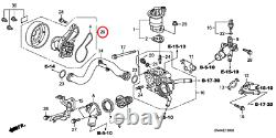 New Genuine Honda Engine Water Pump Assembly OE 06192R1A305