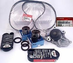 Premium Timing Belt & Water Pump Service Kit with Genuine Honda water pump CL TL