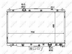 Radiator 58457 NRF Coolant 19010R06E01 Genuine Top Quality Guaranteed New