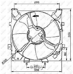 Radiator Fan Cooling HondaCIVIC VI 6, V 5 80150SR3K01 80150SR3013 80161SR3000