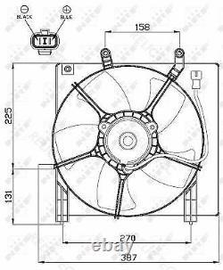 Radiator Fan Cooling HondaJAZZ II 2 19030TWAJ51 19020PMET01 19015PWJZ01